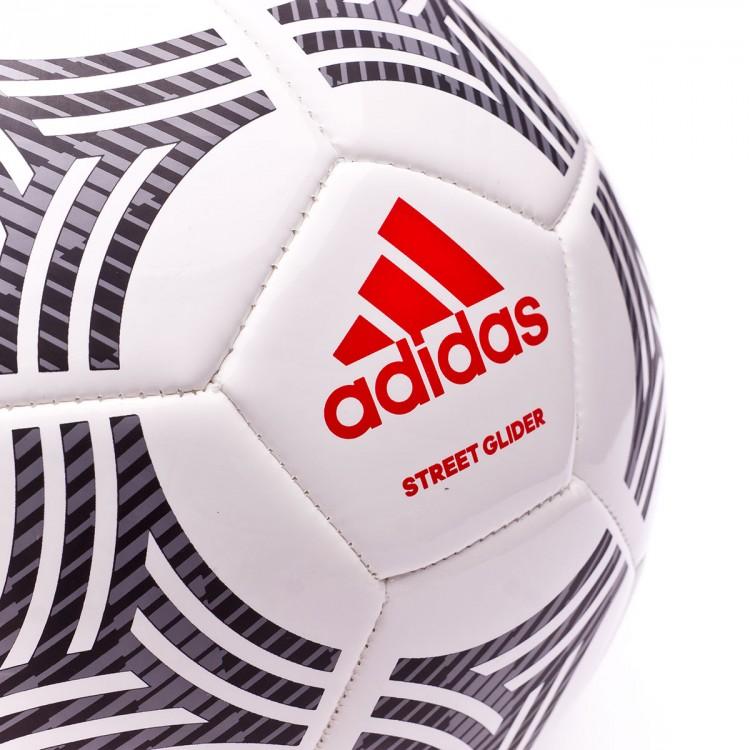 Ball adidas Tango Street Glider White-Black-Real coral - Football ... b243ffbab9991