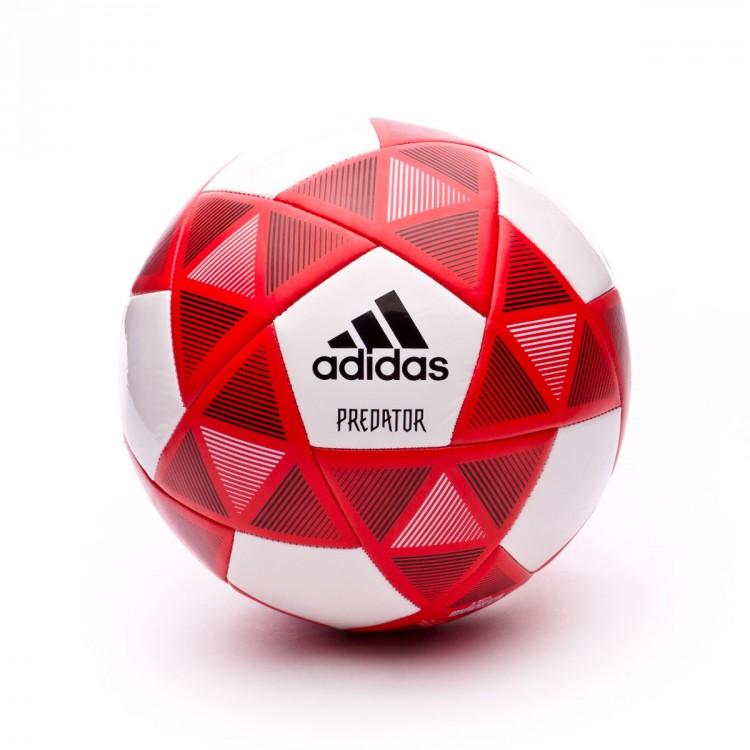 Bola de Futebol adidas Predator Glider White-Black-Real coral - Loja ... 83810decb4d30