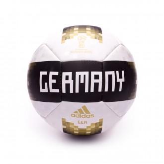 Bola de Futebol  adidas OLP 18 Alemanha White-Black-Matte Gold
