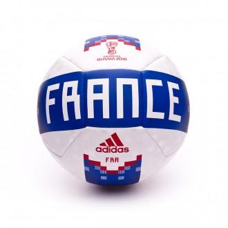 Bola de Futebol  adidas OLP 18 França White-Blue-Red