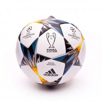 Bola de Futebol  adidas Finale Kiev OMB White-Black-Solar yellow-Blue-Clear agua-Oran