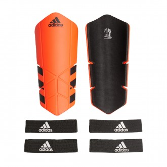 Shinpads  adidas Ghost Euro Lest Solar red-Black