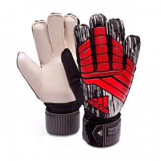 Guante  adidas Predator Fingersave Manuel Neuer Niño Solar red-Black-Silver metallic