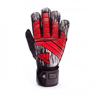 Gant adidas Predator Fingersave Manuel Neuer Enfant Solar red-Black-Silver metallic