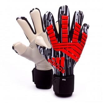 Luvas  adidas Predator Pro Manuel Neuer Solar red-Black