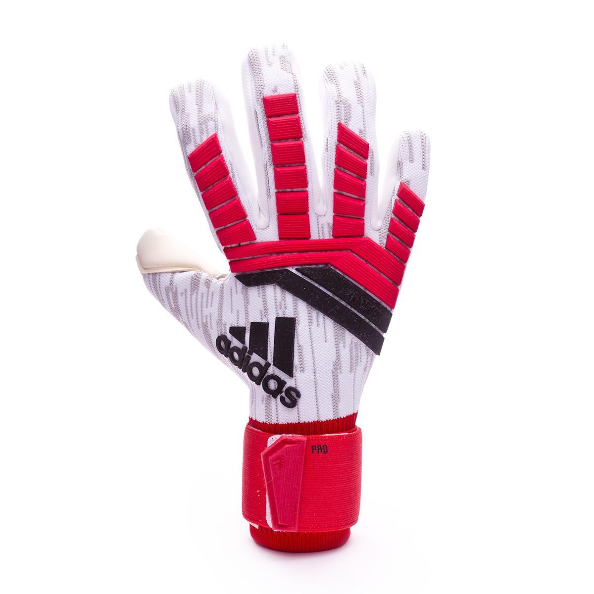 Guante de portero adidas Predator Pro Real coral-Black-White ... 893f755f34b56