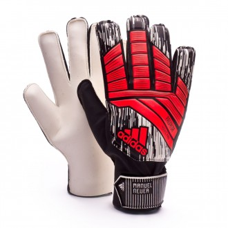 Luvas  adidas Predator YP Manuel Neuer Solar red-Black