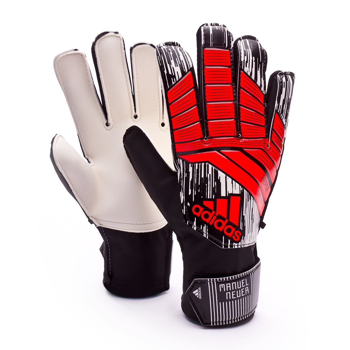 c430de41453 Glove adidas Kids Predator Manuel Neuer Solar red-Black - Football ...
