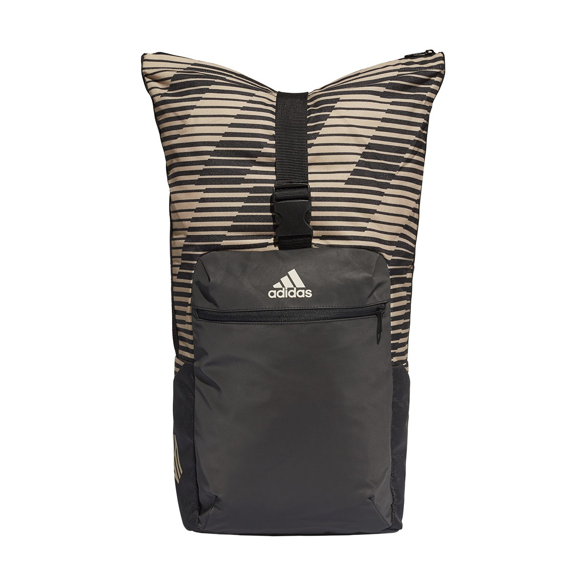 c2e5a89713de6 Backpack adidas FS BP Black-Raw gold - Football store Fútbol Emotion