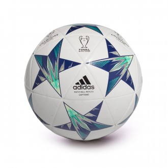 Balón  adidas Finale Kiev Capitano White-Black-Unity ink-High green-Aero green-S