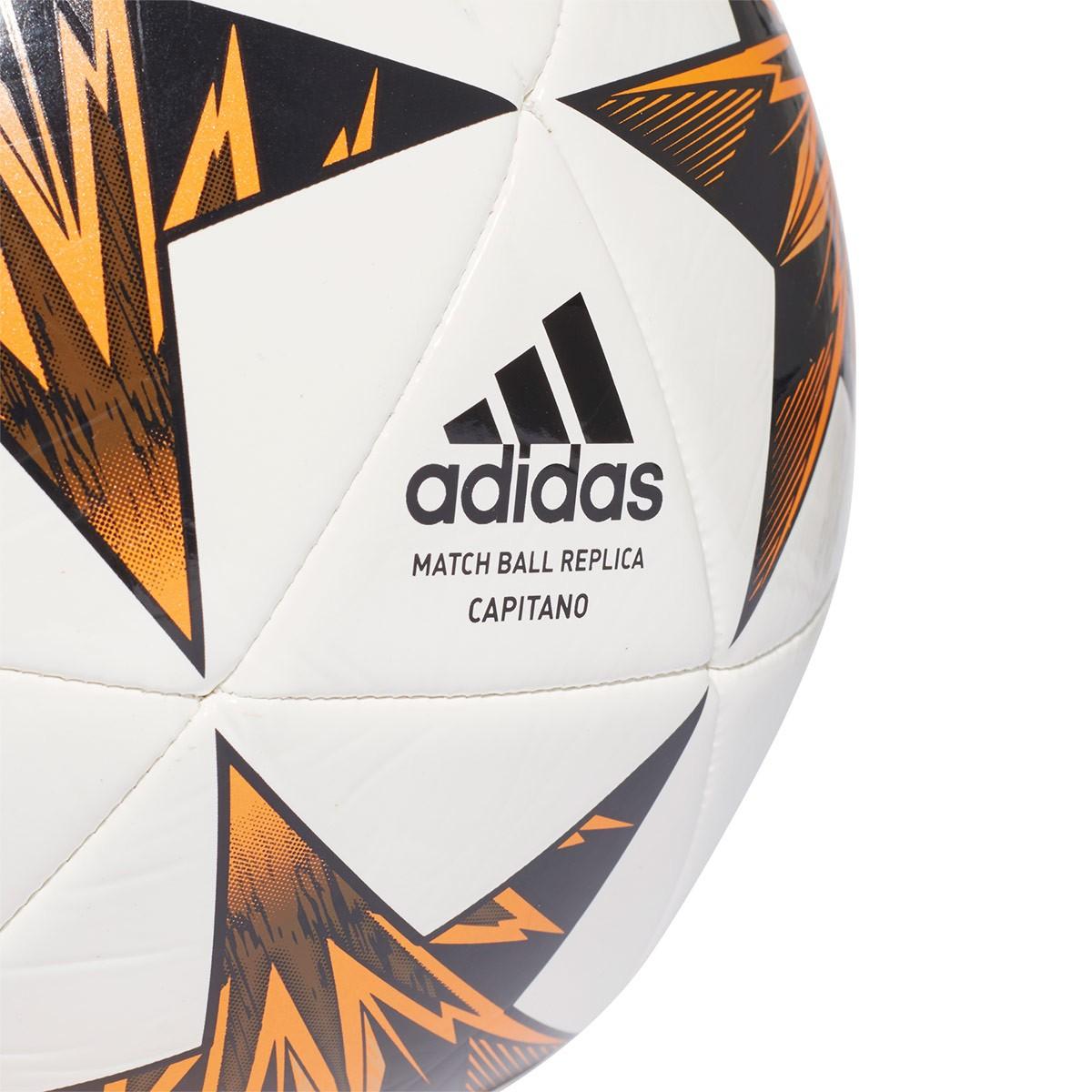 c2acc695d840e Bola de Futebol adidas Finale Kiev Capitano White-Black-Trace olive-Core  black-Bright ora - Loja de futebol Fútbol Emotion