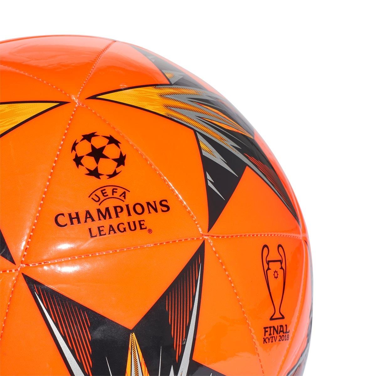 49e51ed03a302 Bola de Futebol adidas Finale Kiev Capitano Solar red-Black - Loja de  futebol Fútbol Emotion