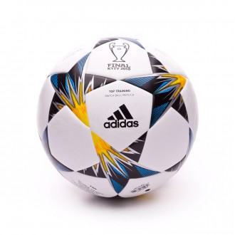 Balón  adidas Finale Kiev TT White-Black-Solar yellow-Blue-Clear aqua-Oran