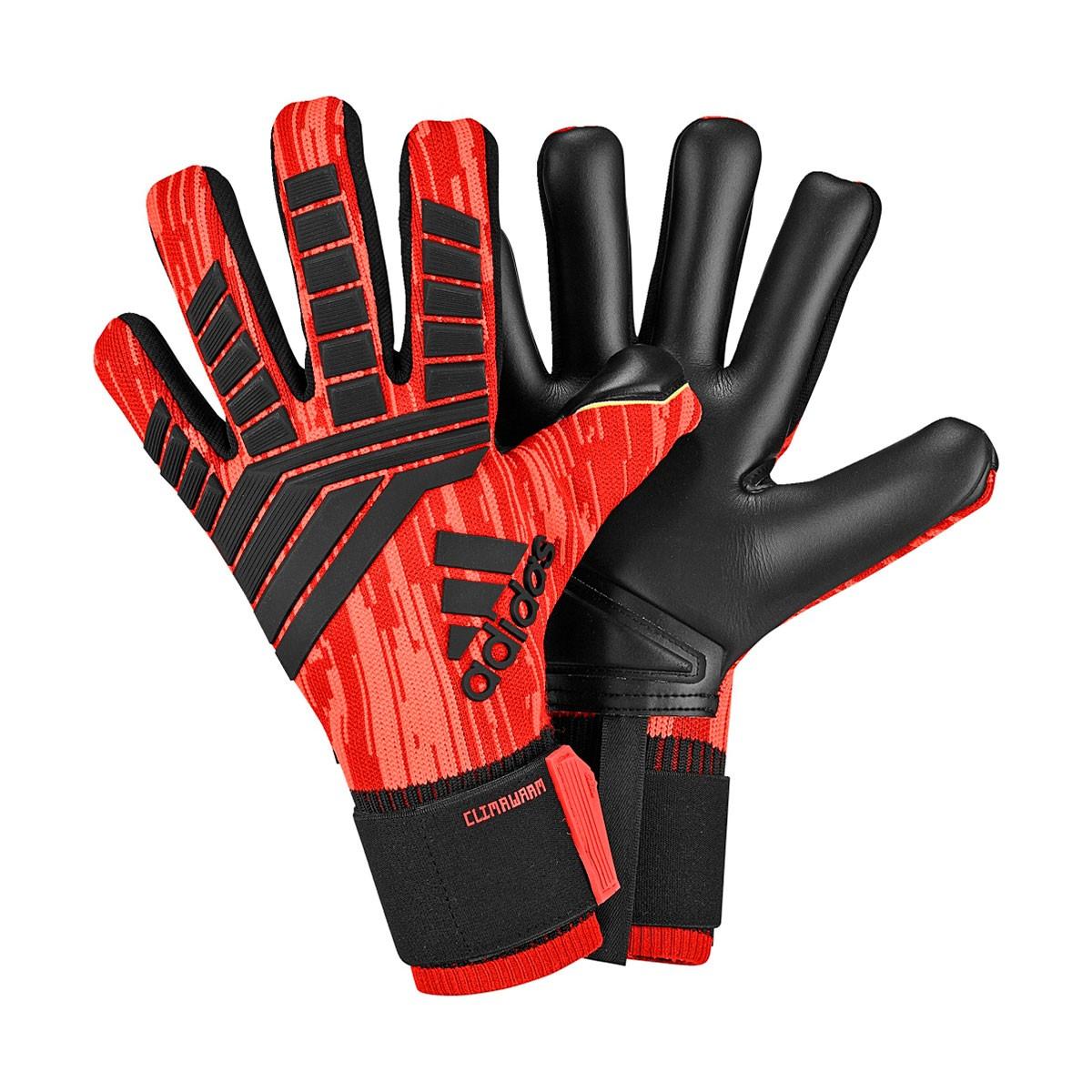 Guante de portero adidas Predator Clima Warm Real coral-Black-Red ... f555cf6a06a14