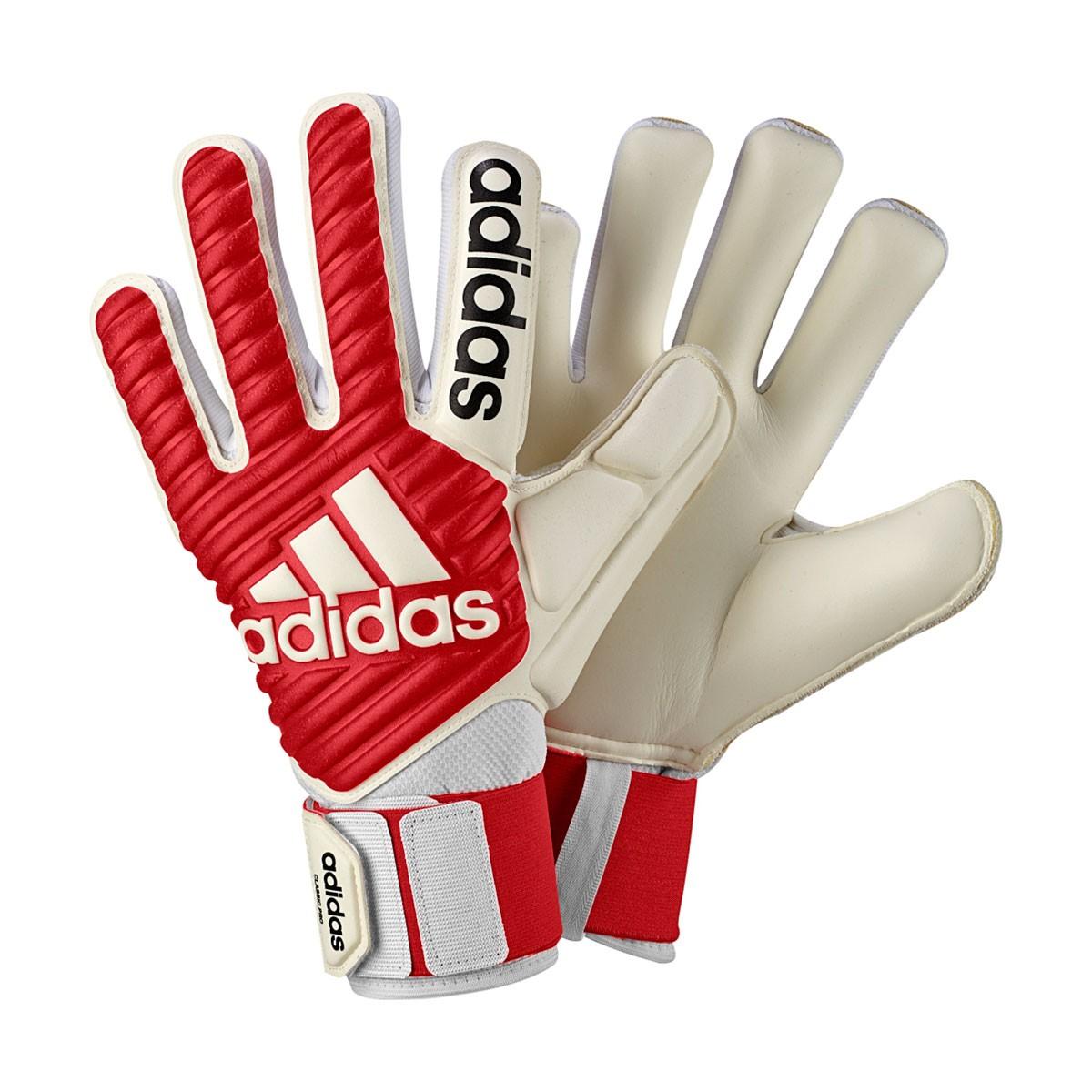 e326e5b866 Guanti adidas Classic Pro Real coral-White - Negozio di calcio Fútbol  Emotion
