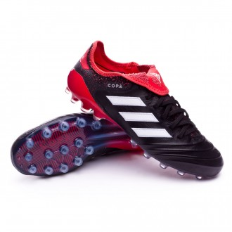 Chaussure  adidas Copa 18.1 AG Core black-White-Real coral