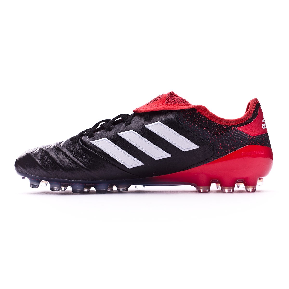 check out c031f f6232 Chaussure de foot adidas Copa 18.1 AG Core black-White-Real coral -  Boutique de football Fútbol Emotion