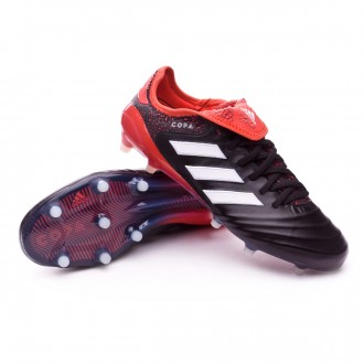 Chaussure  adidas Copa 18.1 FG Core black-White-Real coral