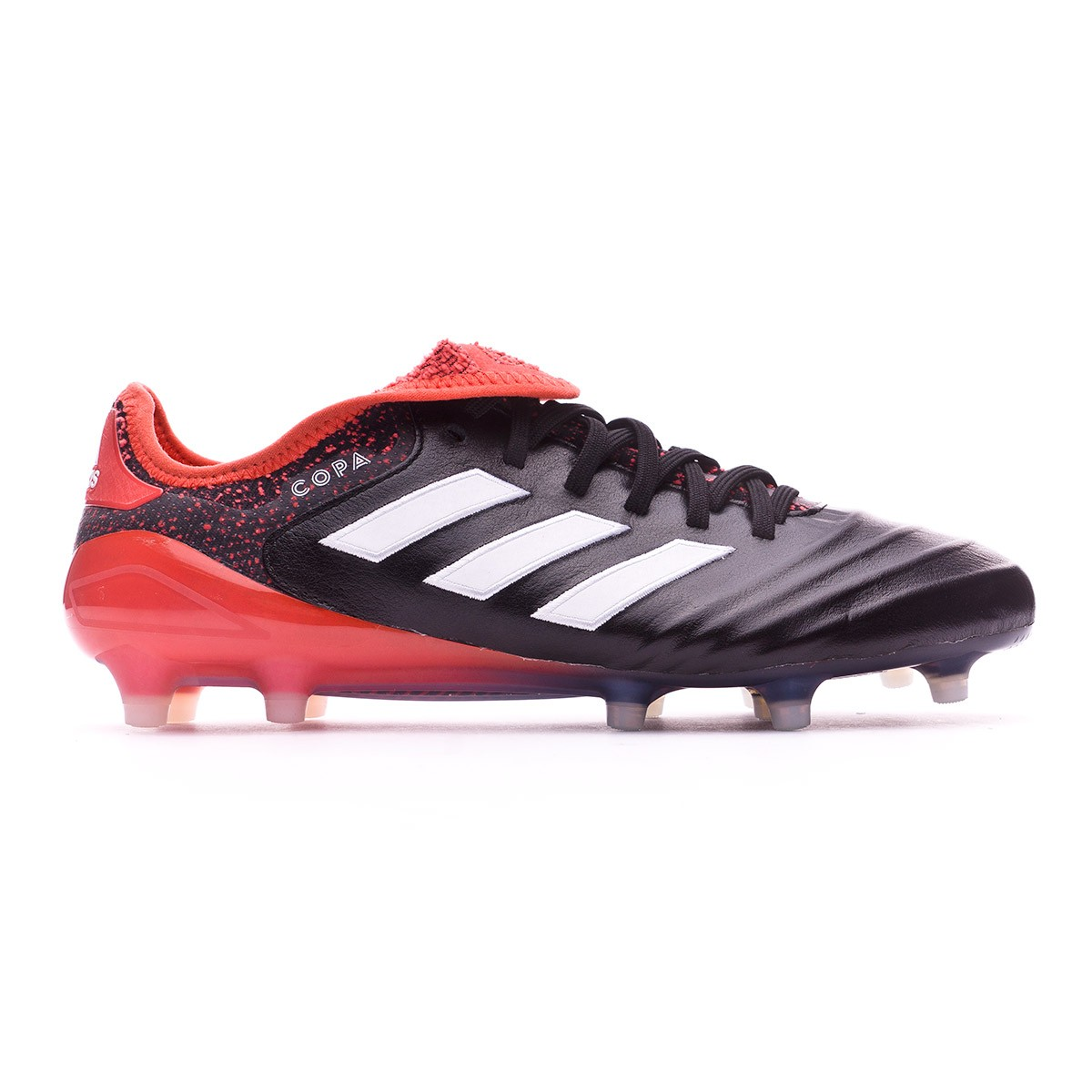 best sneakers 35f61 671cc ... 18.1 FG Core black-White-Real coral. CATEGORY. Football boots · adidas  football boots