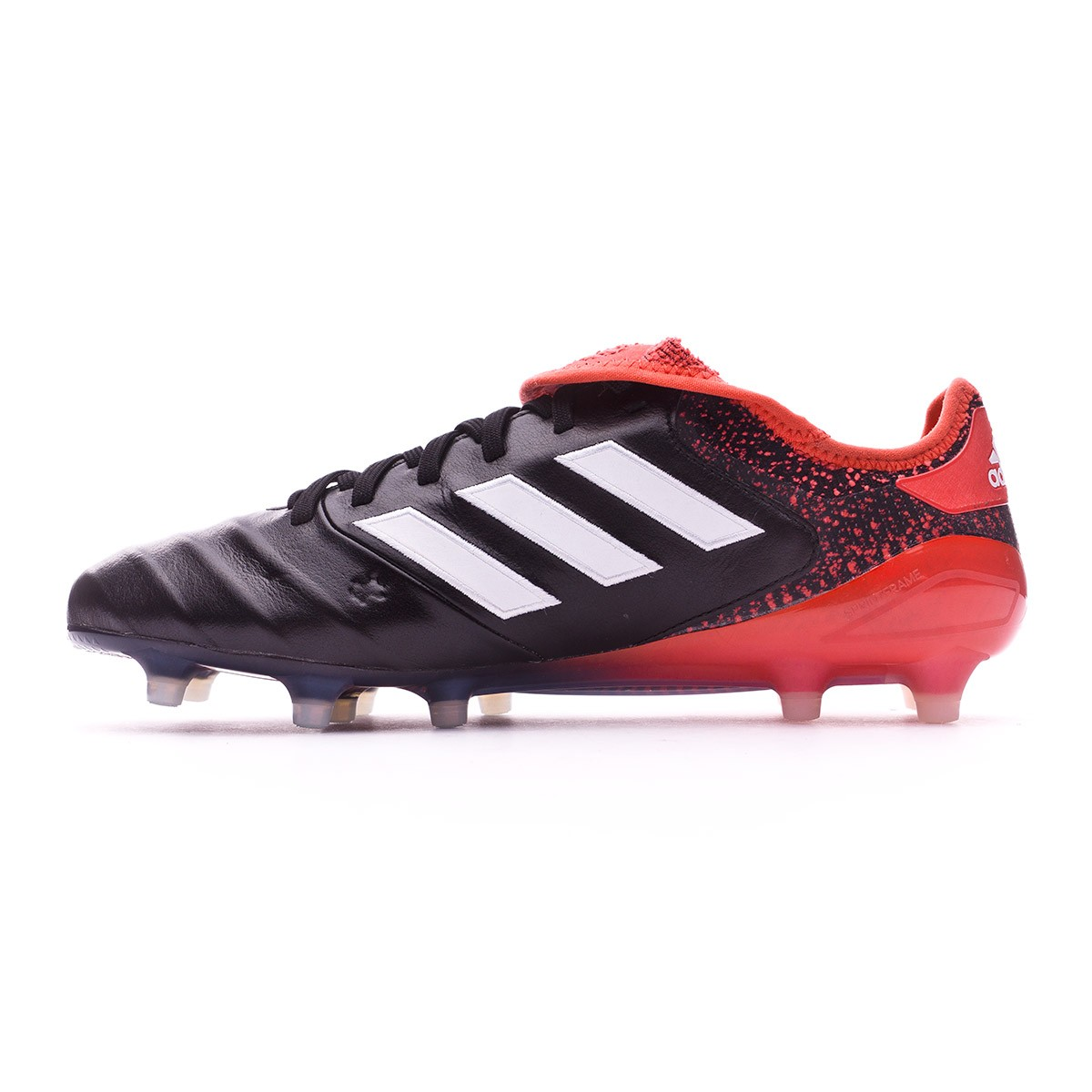 f8356ab04d6 Football Boots adidas Copa 18.1 FG Core black-White-Real coral - Football  store Fútbol Emotion
