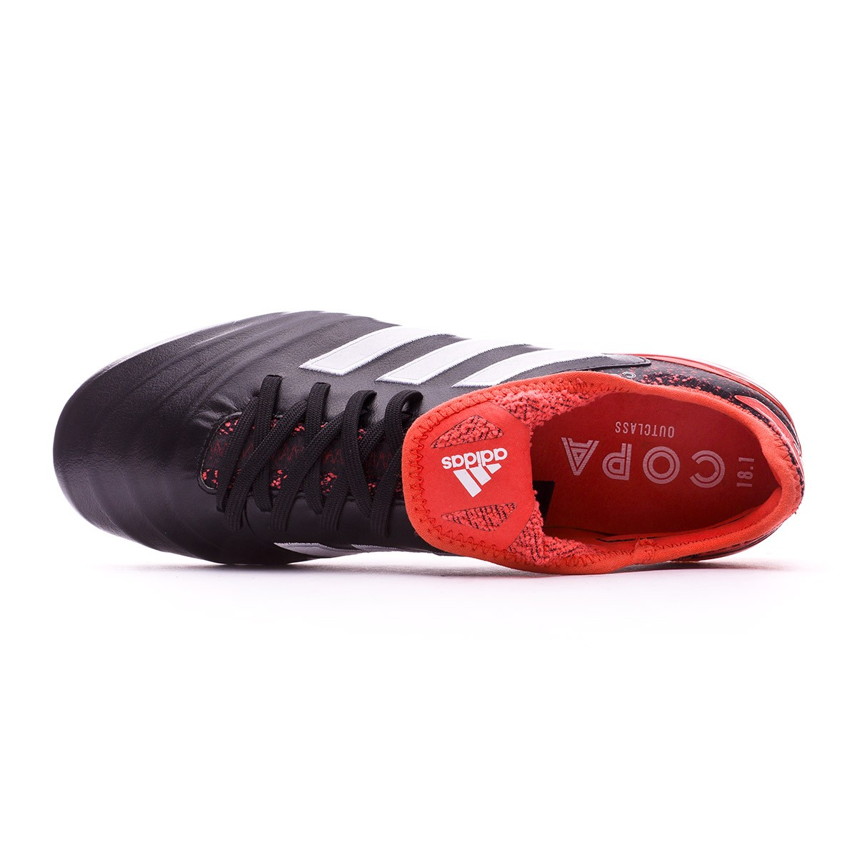 1d4127247dca Football Boots adidas Copa 18.1 FG Core black-White-Real coral - Football  store Fútbol Emotion