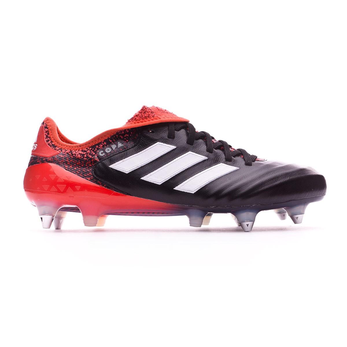 b6e6bde88353 Football Boots adidas Copa 18.1 SG Core black-White-Real coral - Football  store Fútbol Emotion