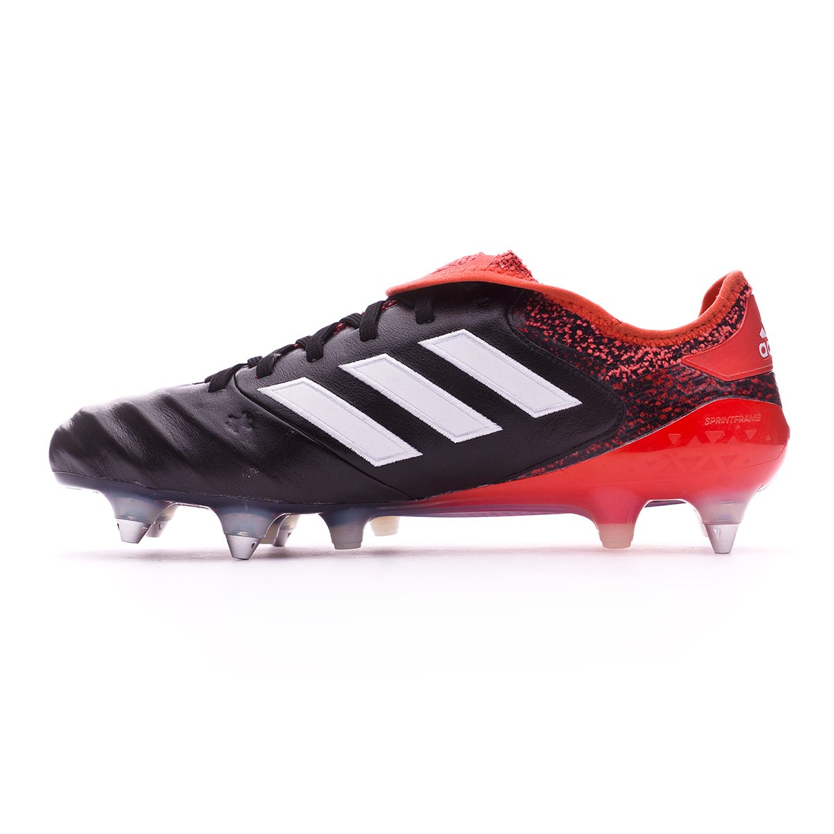 8bb967586eac Football Boots adidas Copa 18.1 SG Core black-White-Real coral - Football  store Fútbol Emotion