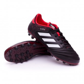 Chaussure  adidas Copa 18.2 AG Core black-White-Real coral