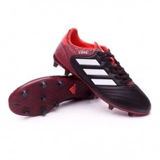 Chaussure  adidas Copa 18.2 FG Core black-White-Real coral