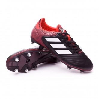 Bota  adidas Copa 18.2 SG White-Core black-Real coral