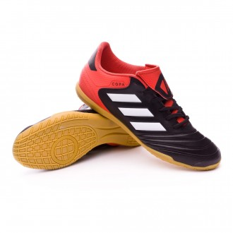 Zapatilla  adidas Copa Tango 18.4 IN Core black-White-Real coral