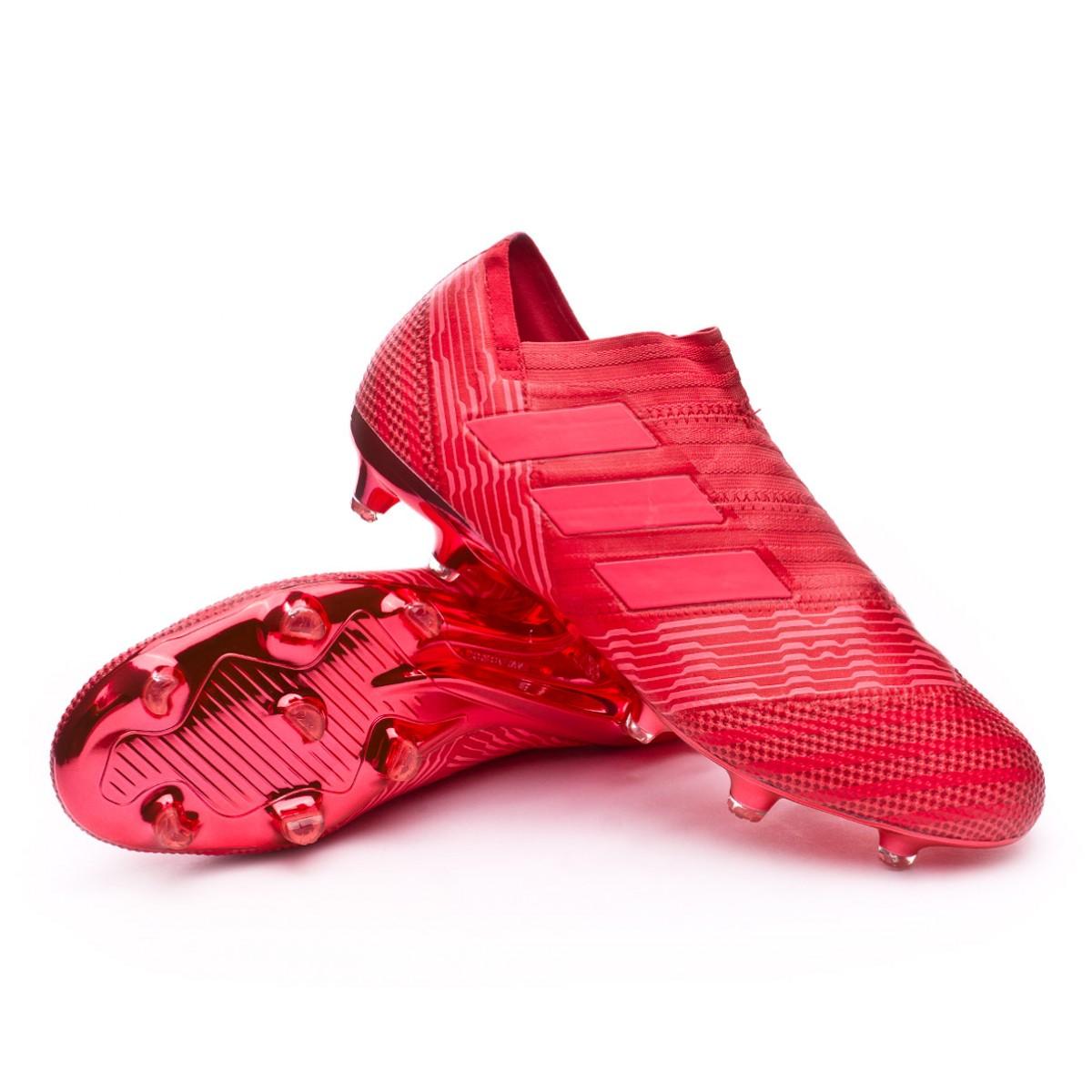 Boot adidas Nemeziz 17+ Agility FG Real coral-Red zest - Foo