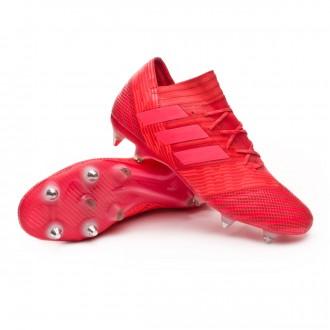 Chuteira  adidas Nemeziz 17.1 SG Real coral-Red zest