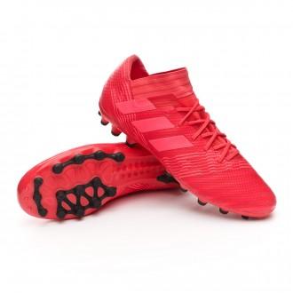 Bota  adidas Nemeziz 17.3 AG Real coral-Red zest