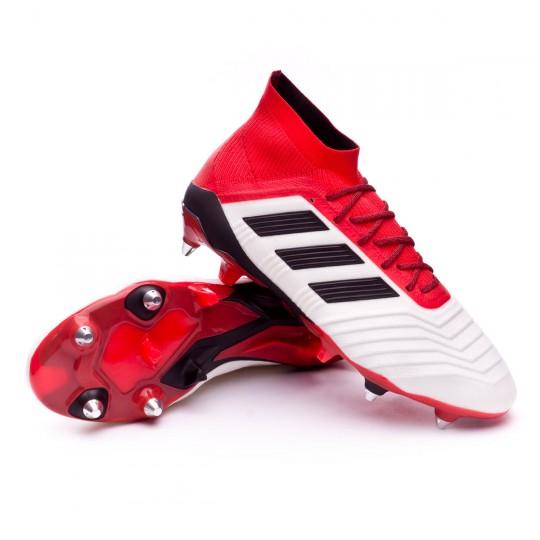 ... inexpensive zapatos de fútbol adidas predator 18.1 sg white core black  real coral soloporteros es ahora 96f49f34cd5ba