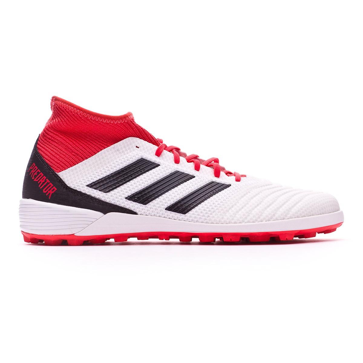 4f77ea73caf29 Tenis adidas Predator Tango 18.3 Turf White-Core black-Real coral - Tienda  de fútbol Fútbol Emotion