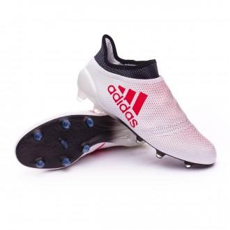 Bota  adidas X 17+ FG Grey-Real coral-Core black