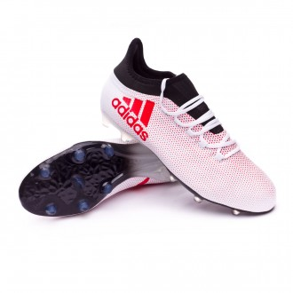 Chaussure  adidas X 17.2 FG Grey-Real coral-Core black