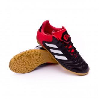 Chaussure  adidas Copa Tango 18.4 IN Niño Core black-White-Real coral