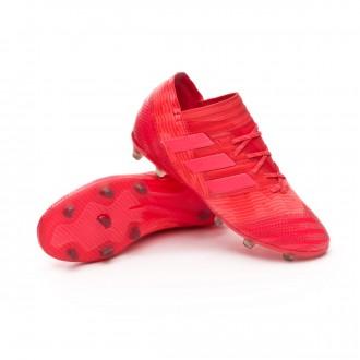 Chuteira  adidas Nemeziz 17.1 FG Crianças Real coral-Red zest