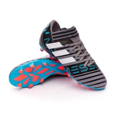 e209f8273 Football Boots adidas Kids Nemeziz Messi 17.3 FG Grey-White-Core black -  Tienda de fútbol Fútbol Emotion