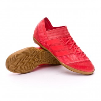 Zapatilla  adidas Nemeziz Tango 17.3 IN Niño Real coral-Red zest