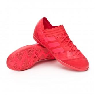 Zapatilla  adidas Nemeziz Tango 17.3 Turf Niño Real coral-Red zest