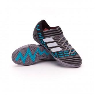 Chaussure  adidas Nemeziz Messi Tango 17.3 IN Niño Grey-White-Core black