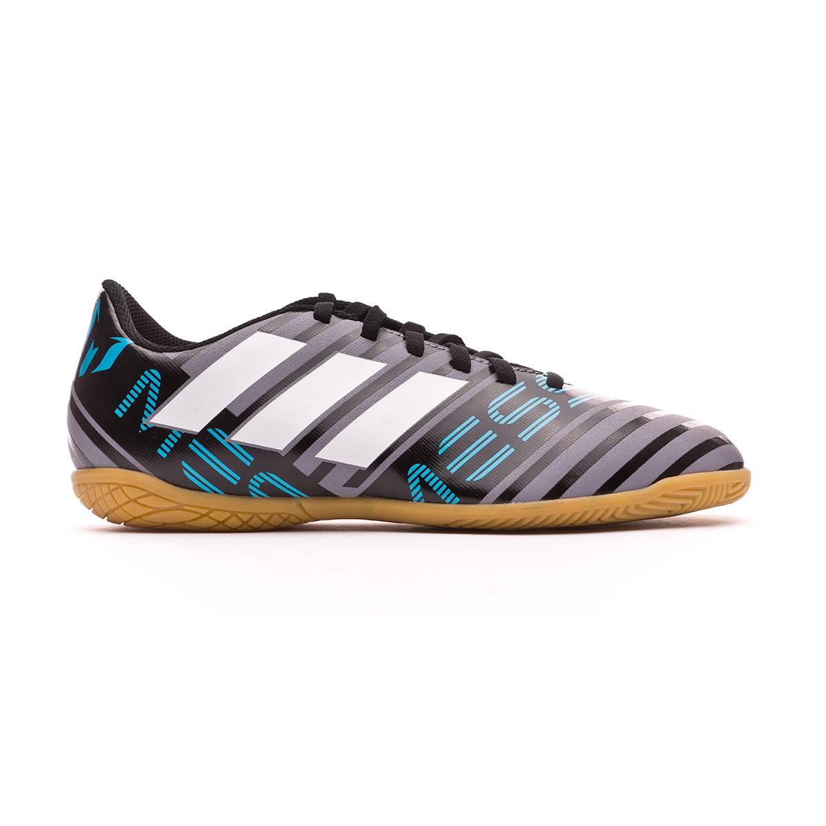 buy online 46015 ab652 Futsal Boot adidas Nemeziz Messi Tango 17.4 IN Niño Grey-Whi