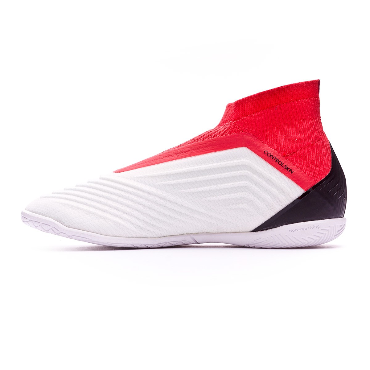 premium selection 701f7 becdf Futsal Boot adidas Predator Tango 18+ IN Niño White-Core black-Real coral -  Football store Fútbol Emotion