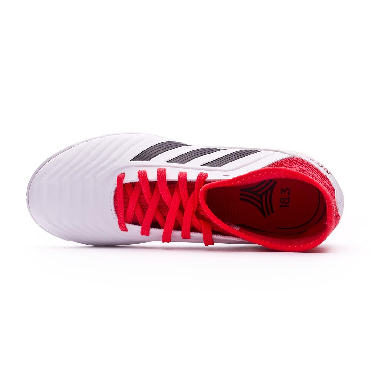 446468b9d60 Sapatilha de Futsal adidas Predator Tango 18.3 IN Crianças White-Core black-Real  coral - Loja de futebol Fútbol Emotion
