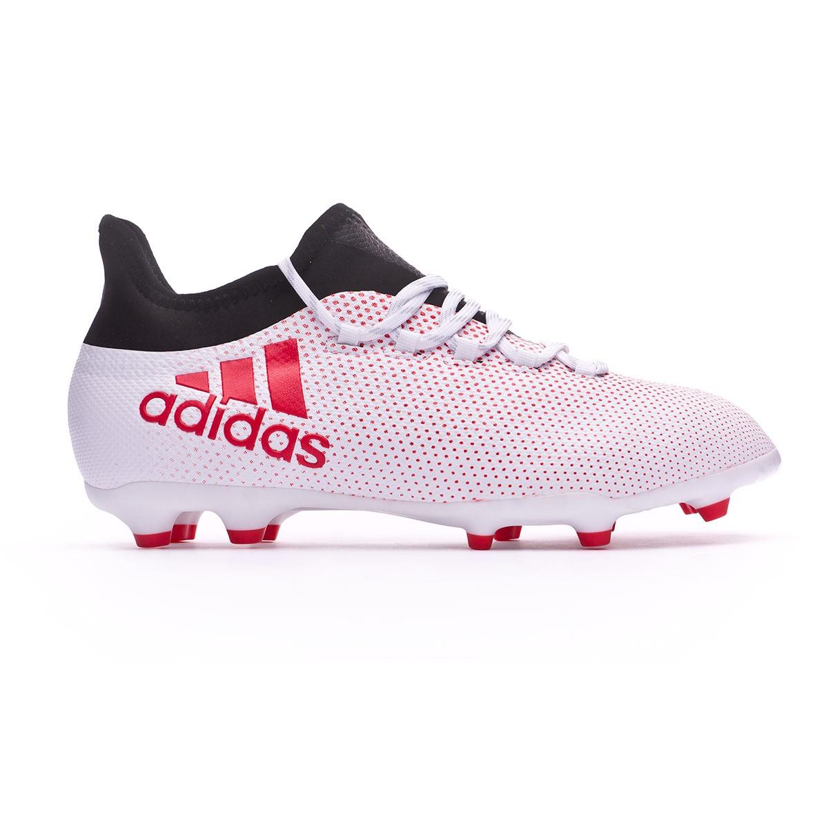 5c566771bd5 Football Boots adidas Kids X 17.1 FG Grey-Real coral-Core black - Tienda de  fútbol Fútbol Emotion