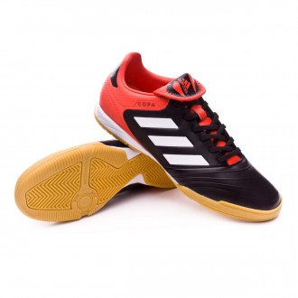 Zapatilla  adidas Copa Tango 18.3 IN Core black-White-Real coral