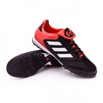 Zapatilla  adidas Copa Tango 18.3 Turf Core black-White-Real coral